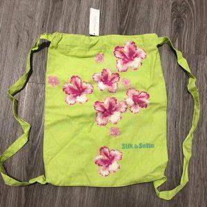 VINTAGE La SENZA  Tote Backpack NWT 💚🌸